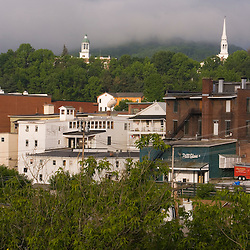 Early morning in St. Johnsbury, Vermont