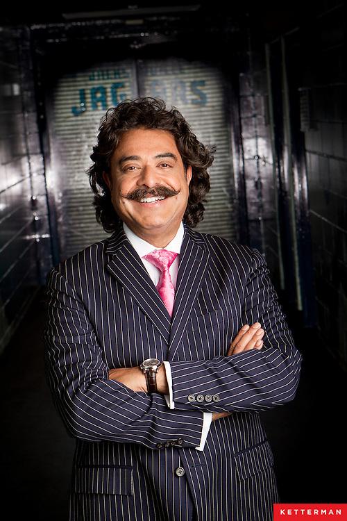 Shahid Khan, owner of the Jacksonville Jaguars