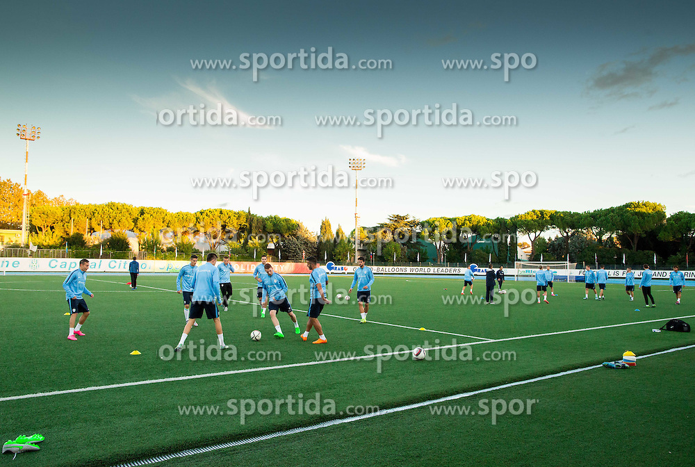 Practice session of Team Slovenia 1 day before EURO 2016 Qualifier Group E match between Slovenia and San Marino, on October 11, 2015 in Riccione, Italy. Photo by Vid Ponikvar / Sportida