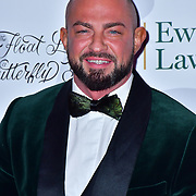 Robin Windsor arrive at Float Like A Butterfly Ball for Caudwell Children Charity at Grosvenor House Hotel on 16 November 2019, London, UK.