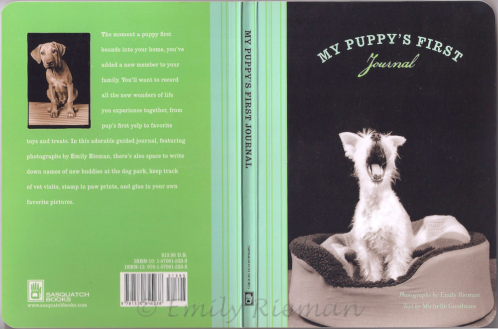 My Puppy's First Journal by Michelle Goodman and Emily Rieman, Sasquatch Books