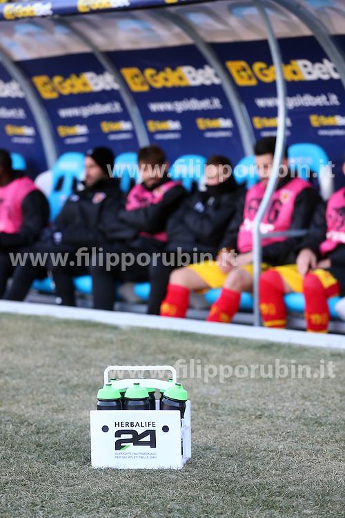 """Foto Filippo Rubin<br /> 21/01/2017 Ferrara (Italia)<br /> Sport Calcio<br /> Spal vs Benevento - Campionato di calcio Serie B ConTe.it 2016/2017 - Stadio """"Paolo Mazza""""<br /> Nella foto: herbalife<br /> <br /> Photo Filippo Rubin<br /> January 21, 2017 Ferrara (Italy)<br /> Sport Soccer<br /> Spal vs Benevento - Italian Football Championship League B ConTe.it 2016/2017 - """"Paolo Mazza"""" Stadium <br /> In the pic: herbalife"""