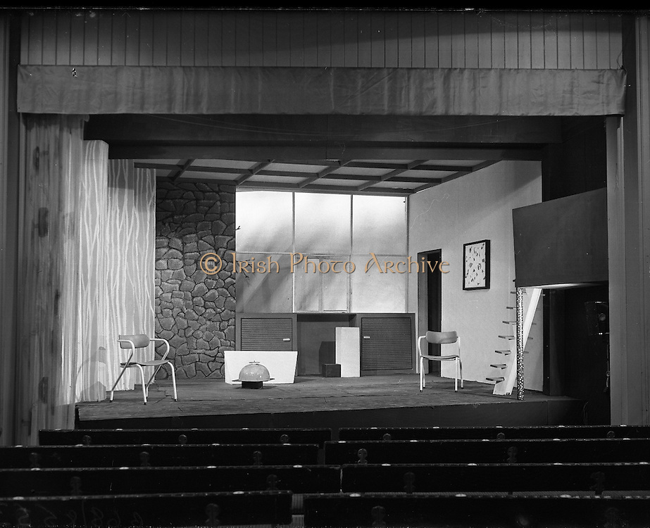 Gael Linn Play at Damer Hall.08/06/1959
