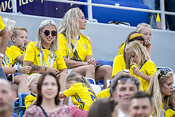 June 18, 2018 - Nizhny Novgorod, Russia - Josefin Lustig, wife of Mikael Lustig..2018 FIFA World CUP, Sweden - South Korea, 1-0, Nizhny Novgorod Stadium, Russia, 2018-06-18..(c) ORRE PONTUS  / Aftonbladet / IBL BildbyrÃ¥....* * * EXPRESSEN OUT * * *....AFTONBLADET / 85527 *** Local Caption  (Credit Image: © Orre Pontus/Aftonbladet/IBL via ZUMA Wire)