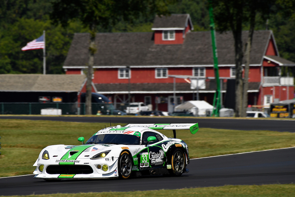 26-28 August, 2016, Alton, Virginia USA<br /> 33, Viper V10, Dodge GT3-R, GTD, Ben Keating, Jeroen Bleekemolen<br /> &copy;2016, Scott R LePage <br /> LAT Photo USA