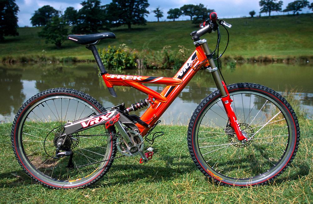 Trek VRX full suspension bike