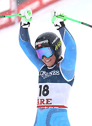 08.02.2019, WM Strecke, Aare, SWE, FIS Weltmeisterschaften Ski Alpin, alpine Kombination, Abfahrt, Damen, im Bild Kajsa Vickhoff Lie (NOR) // Kajsa Vickhoff Lie (NOR) reacts after the downhill competition of Alpine combination of the ladie's of FIS Ski World Championships 2019. WM Strecke in Aare, Sweden on 2019/02/08. EXPA Pictures © 2019, PhotoCredit: EXPA/ SM<br /> <br /> *****ATTENTION - OUT of GER*****