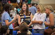Incoming teachers participate in the New Teacher Academy held at the Kingdom Builders Center, July 31, 2014.