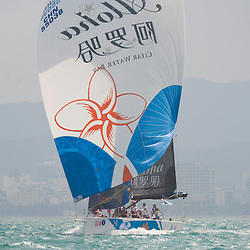 China Sanya 22.3. 2014 Round Hainan Regatta<br /> Racing day 1