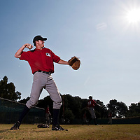 Baseball - MLB European Academy - Tirrenia (Italy) - 21/08/2009 - Enzo Muschik (Germany)