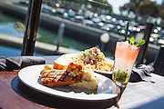 Outdoor Dining at the Harbor in Marina Del Rey