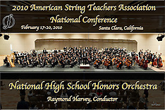 National High School Honors Orchestra Concert, 2010