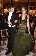Annabel Dexter Jones and Dimitris Soutzo, Crillon 2004 Debutante Ball. Crillon Hotel. Paris. 26 November 2004. ONE TIME USE ONLY - DO NOT ARCHIVE  © Copyright Photograph by Dafydd Jones 66 Stockwell Park Rd. London SW9 0DA Tel 020 7733 0108 www.dafjones.com
