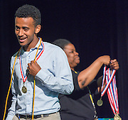 Senior recognition ceremony at Lee High School, May 25, 2016.