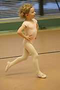 Images from children's ballet rehearsal at the Lake Placid School of Ballet.