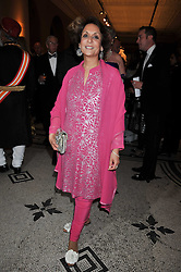 PRINCESS RAJYASHREE KUMARI BIKANER at a dinner to celebrate the opening of 'Maharaja - The Spendour of India's Royal Courts' an exhbition at the V&A, London on 6th October 2009.