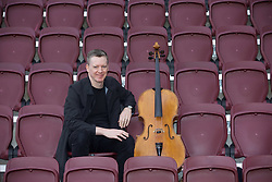 Fergus Linehan, director, at launch of Edinburgh International Festival programme, Tynecastle stadium. Pic Terry Murden @edinburghelitemedia