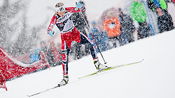 Therese Johaug of Norway during women 9 km pursue race at the cross country Tour de Ski 2014 of the FIS cross country World cup competition on January 5th, 2014 in Alpe Cermis, Val di Fiemme, Italy. (Photo by Urban Urbanc / Sportida)
