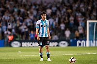 AVELLANEDA, BUENOS AIRES, ARGENTINA - 2017 NOVEMBER 01. Racing Club (17) Martín Ojeda during the Copa Sudamericana quarter-finals 2nd leg match between Racing Club de Avellaneda and Club Libertad at Estadio Juan Domingo Perón,  <br /> ( Photo by Sebastian Frej )