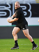 Owen Franks, <br /> All Blacks training session at Eden Park ahead of the upcoming test series against France. Auckland, New Zealand. Thursday 7 June 2018. © Copyright photo: Andrew Cornaga / www.Photosport.nz