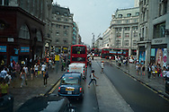 Wiew of Oxford Circus from a dpoble deck bus, London photo@Antonio Nodar/Imagenes Libres