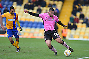 Northampton Town defender Rod McDonald during the Sky Bet League 2 match between Mansfield Town and Northampton Town at the One Call Stadium, Mansfield, England on 28 March 2016. Photo by Jon Hobley.