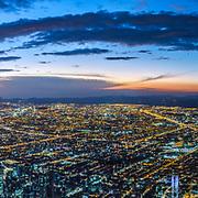 Panorama Bogota Sunset (Format 3 x 1)