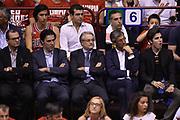 DESCRIZIONE : Campionato 2013/14 Finale Gara 7 Olimpia EA7 Emporio Armani Milano - Montepaschi Mens Sana Siena Scudetto<br /> GIOCATORE : Valentino Renzi Fernando Marino<br /> CATEGORIA : Tifosi VIP<br /> SQUADRA : Olimpia EA7 Emporio Armani Milano<br /> EVENTO : LegaBasket Serie A Beko Playoff 2013/2014<br /> GARA : Olimpia EA7 Emporio Armani Milano - Montepaschi Mens Sana Siena<br /> DATA : 27/06/2014<br /> SPORT : Pallacanestro <br /> AUTORE : Agenzia Ciamillo-Castoria /GiulioCiamillo<br /> Galleria : LegaBasket Serie A Beko Playoff 2013/2014<br /> FOTONOTIZIA : Campionato 2013/14 Finale GARA 7 Olimpia EA7 Emporio Armani Milano - Montepaschi Mens Sana Siena<br /> Predefinita :