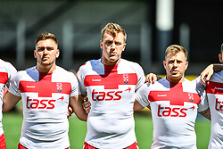England Students v Scotland Students<br /> <br /> Photographer Craig Thomas/Replay Images<br /> <br /> Student Home Nations - England  v Scotland  - Tuesday17th July 2018 - Sardis Road - Pontypridd<br /> <br /> World Copyright © 2017 Replay Images. All rights reserved. info@replayimages.co.uk - www.replayimages.co.uk