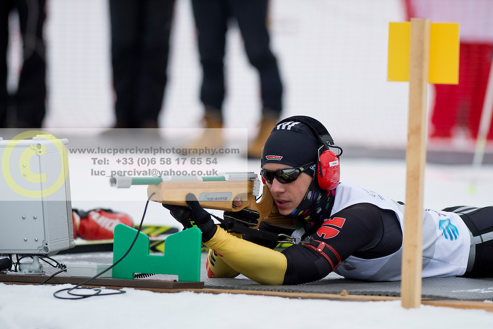 MESSINGER Nico Guide: BURCHARTZ PL, GER, Long Distance Biathlon, 2015 IPC Nordic and Biathlon World Cup Finals, Surnadal, Norway