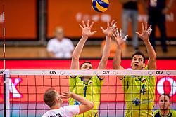 20-05-2018 NED: Netherlands - Slovenia, Doetinchem<br /> First match Golden European League / Toncek Stern #1 of Slovenia, Jan Kozamernik 41 of Slovenia
