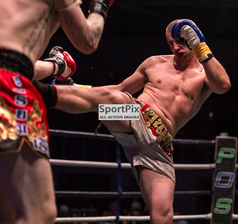 Action from the fight between Pavel Pratcher and Rob Allen (c) ROSS EAGLESHAM | SportPix.org.uk