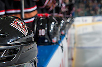 KELOWNA, CANADA - FEBRUARY 1: The Calgary Hitmen take on the Kelowna Rockets on February 1, 2017 at Prospera Place in Kelowna, British Columbia, Canada.  (Photo by Marissa Baecker/Shoot the Breeze)  *** Local Caption ***