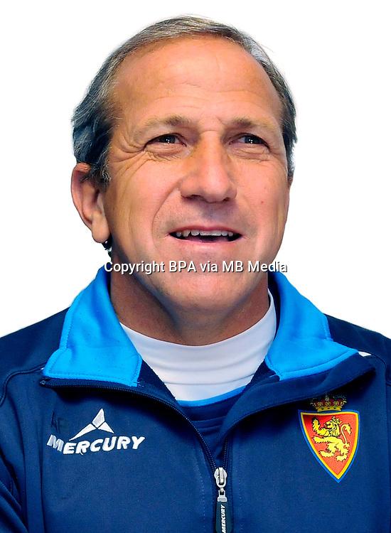 Spain - La Liga Adelante 2014-2015 / <br /> ( Real Zaragoza ) - <br /> V&iacute;ctor Munoz Manrique - DT Real Zaragoza