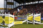 Nicola Philippaerts - Vadetta van het Mettenhof<br /> World Equestrian Festival, CHIO Aachen 2013<br /> © DigiShots