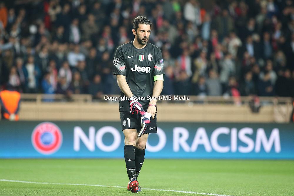 Gianluigi BUFFON  - 22.04.2015 - Monaco / Juventus Turin - 1/4Finale retour Champions League<br />Photo : Serge Haouzi / Icon Sport