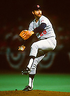 ST. LOUIS - 1987:  Bert Blyleven of the Minnesota Twins pitches during Game 5 of the 1987 World Series versus the St. Louis Cardinals at Busch Stadium in St. Louis, Missouri.  Blyleven played for the Twins from 1970-1976 and again from 1985-1988.  (Photo by Ron Vesely)