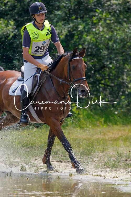 Bossaerts Nick - Rosita<br /> Nationaal Kampioenschap ponies LRV  Minderhout 2008<br /> Photo © Hippo Foto