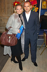 Actress JOANNA TAYLOR and footballer DANNY MURPHY at the press night of Cirque Du Soleil's 'Alegria' held at the Royal Albert, London on 5th January 2006.<br /><br />NON EXCLUSIVE - WORLD RIGHTS