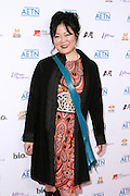 Margaret Cho attends the A&E Upfronts at the IAC Building in New York City on May 5, 2010.