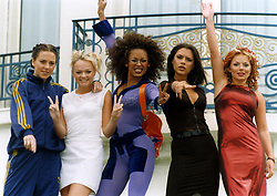 The Spice Girls pose for photographers at Cannes film festival