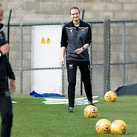 St Johnstone Training….<br />Physio Mel Stewart pictured during training at McDiarmid Park ahead of Sunday's game against Rangers<br />Picture by Graeme Hart.<br />Copyright Perthshire Picture Agency<br />Tel: 01738 623350  Mobile: 07990 594431