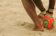 Football - FIFA Beach Soccer World Cup 2006 - Group B - FRA X IRN - Rio de Janeiro - Brazil 07/11/2006<br />