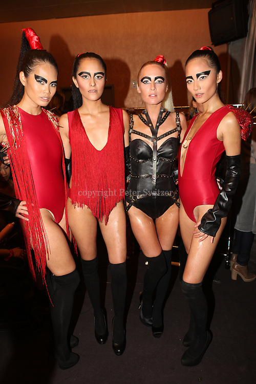 """Six fashion designers competed for """"Hollywood's Top Designer Award"""" during LA Fashion Week at Factory in W. Hollywood, California March 15, 2012."""