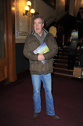 JEREMY CLARKSON at the opening night of Totem by Cirque du Soleil held at The Royal Albert Hall, London on 5th January 2011.