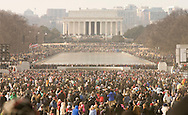 The inauguration of President Barack Obama as the 44th President of the United States of America in Washington January 20, 2009. Obama became the first African-American to be elected to the office of president in the history of the United States. Photo by Rafael Agustin Delgado .