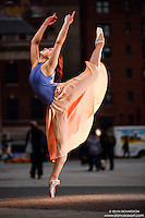 Union Square: Dance As Art the New York City Photography Project with dancer Megan Amanda Ehrlich