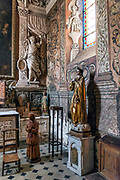 Church of the apostle St Paul, St Paul de Vence, Provence, France