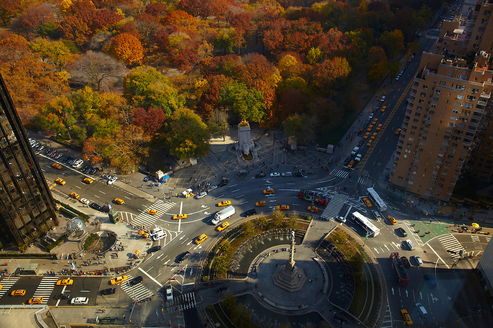 View of Central Park and Columbus Circle from 25 Columbus Circle #54C