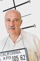 Mug shot of senior man